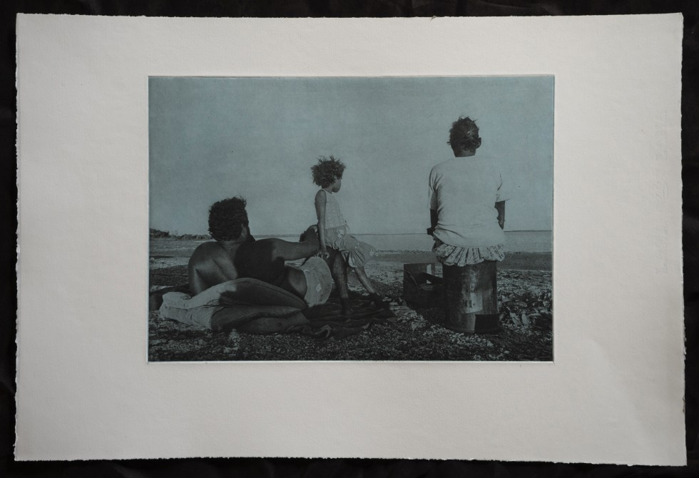 Juno Gemes -Photogravure - One With the Land